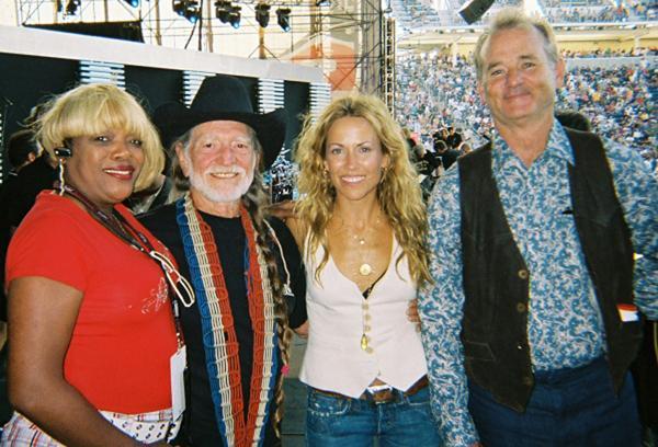 Nellie with Willie Nelson - Sheyl Crow & Bill Murray
