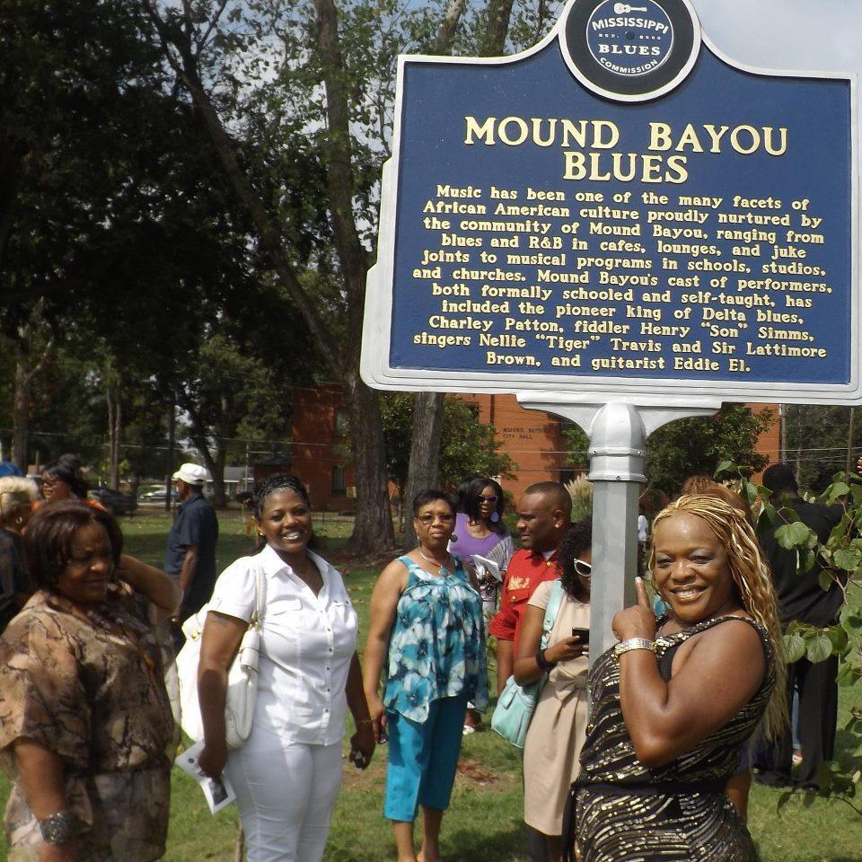 Mound Bayou Blues Marker